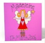 Personalised Canvases For Children and Babies