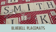 bluebell placemats