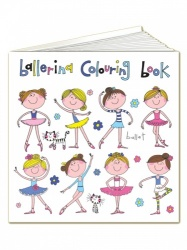 Rachel Ellen Ballerina Colouring Book