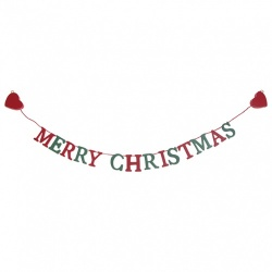 Sass & Belle Small Merry Christmas Garland