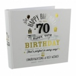 Signography 70th Birthday Photo Album