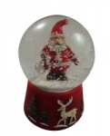 Gisela Graham Father Christmas Snow dome
