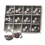 Heaven Sends Set of 12 Glitter Star Baubles