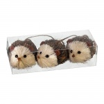 Heaven Sends Set of 3 Bristle Hedgehogs