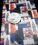 Peggy Wilkins Pvc Tablecloth - London Scene