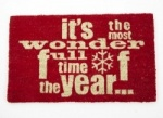 Heaven Sends Wonderful Time of Year Doormat