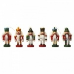Set of 6 Heaven Sends Nutcracker Christmas Tree Decorations