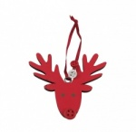 Gisela Graham Christmas Decoration - Reindeer Head