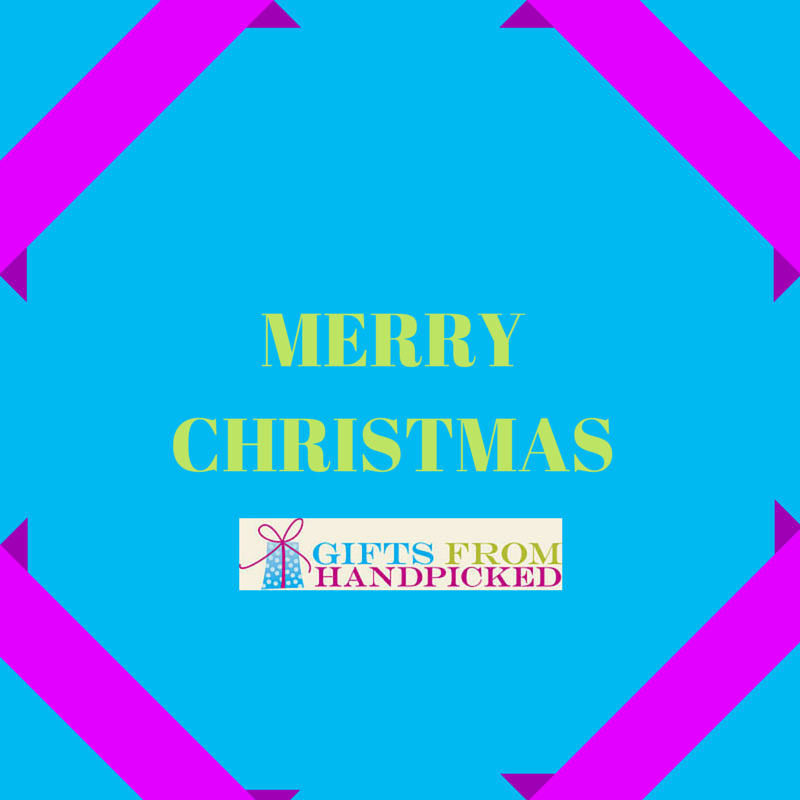 merry christmas from gif ts from handpicked