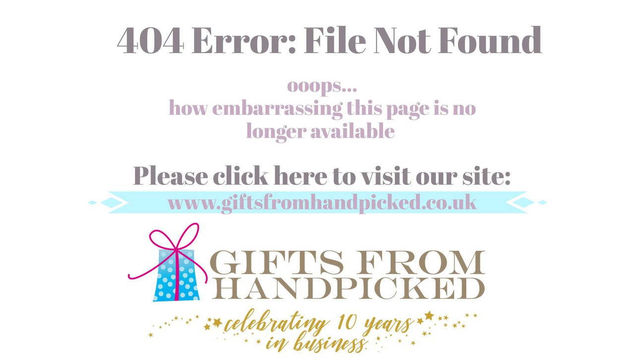 404 error redirecting page for gifts from handpicked