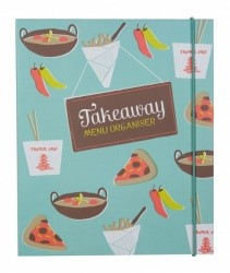 great takeaway menu organiser