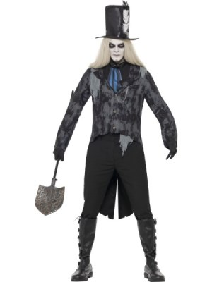 SM-28913 Ghost Town Undertaker Costume