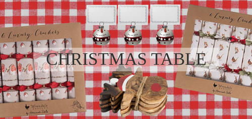 christmas table range at gifts from handpicked