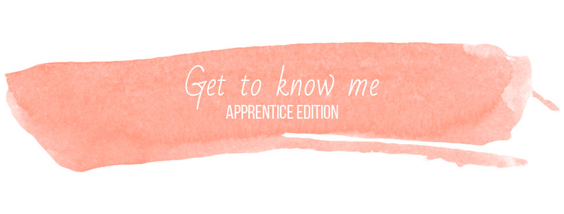 Get to know me, the new apprentice | Gifts from Handpicked Blog