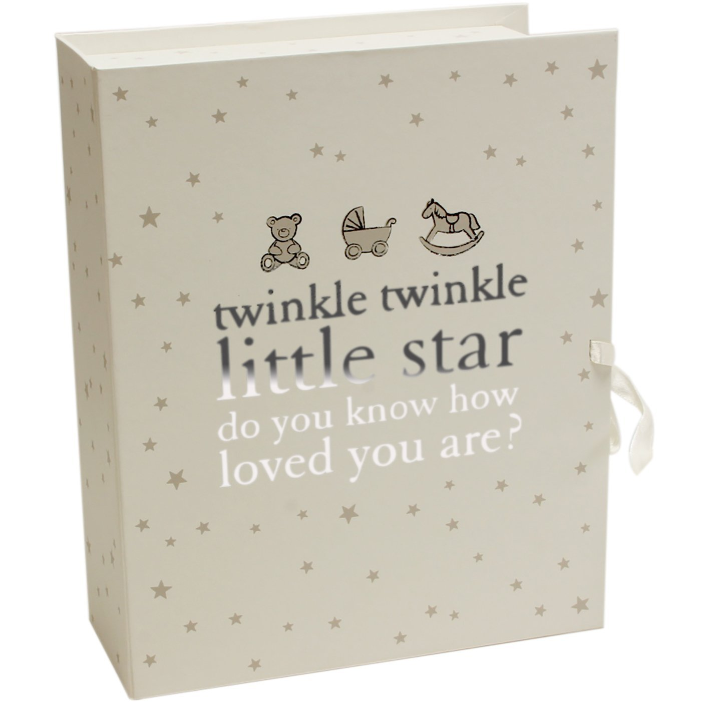 babies keepsake christening box