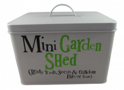 mini garden shed the bright side