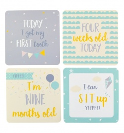 baby milestone cards for babies