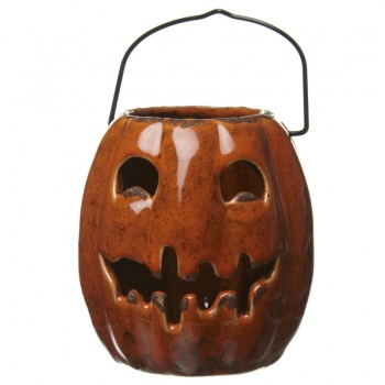 Heaven Sends Ceramic Pumpkin Tealight Holder