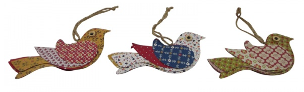 hanging bird decorations perfect for the home