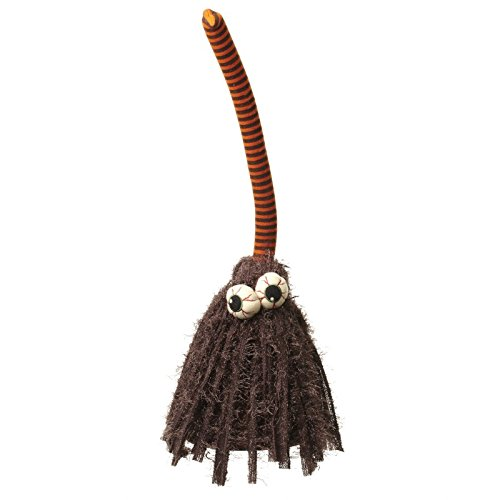 halloween walking talking broom