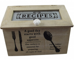 recipes box perfect for the family