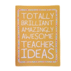 totally brilliant amzing awesome teacher ideas notebook