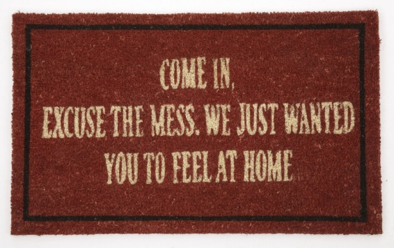 homeware doormat, perfect for at the heart of the home