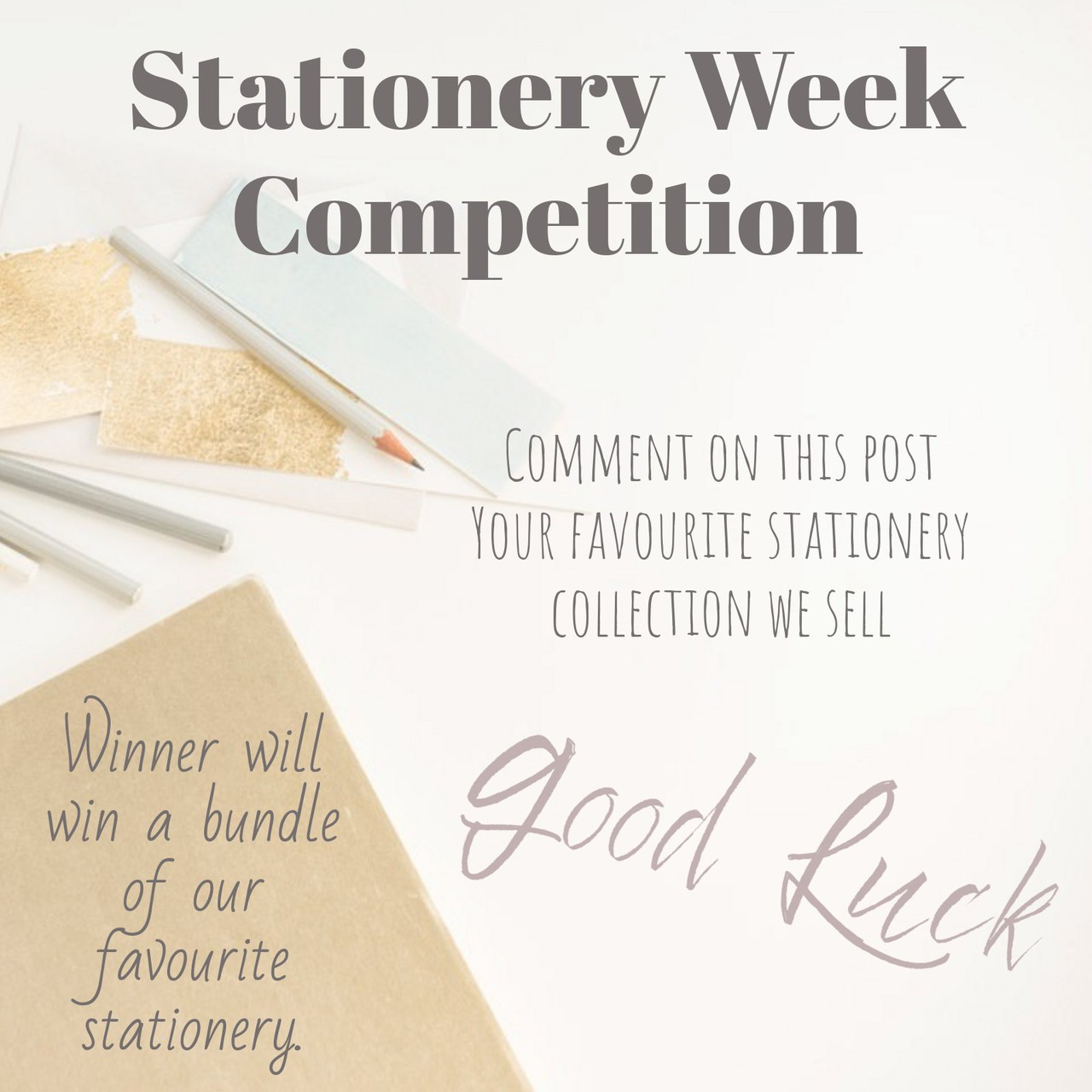 stationery competition bundle of best sellers