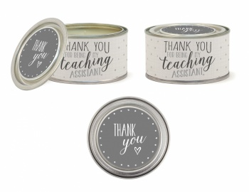 East of India Thank You For Being My Teaching Assistant Scented Candle