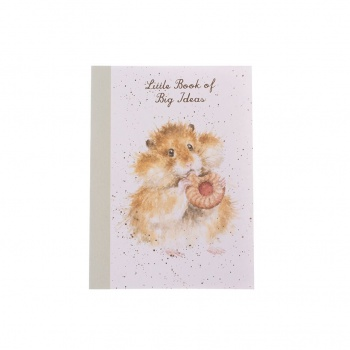 Wrendale Designs A6 Hamster Illustrated Notebook