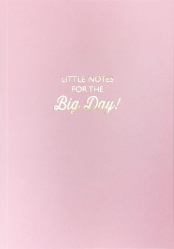 Bluebell 33 Little Notes For The Big Day Lined Notebook