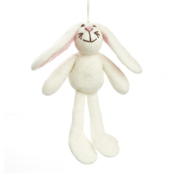 Felt So Good Big Eared Bunny Easter Hanging Decoration
