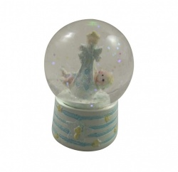 Gisela Graham New Baby Boy  Decorative Snowdome