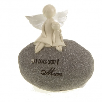 Heaven Sends I Love You Mum Angel Stone
