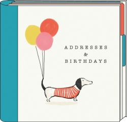 The Artfile Frank Sausage Dog Address & Birthday Book