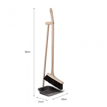 Garden Trading Dustpan and Brush with Beech Handle