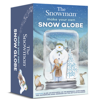 The Snowman Childrens Craft Set Make Your Own Snow Globe