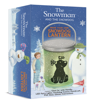 The Snowman and The Snowdog Make Your Own Snowdog Lantern