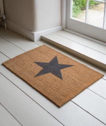 Garden Trading Large Coir Star Entrance Doormat