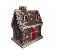 Gisela Graham XL Light Up Christmas Gingerbread House