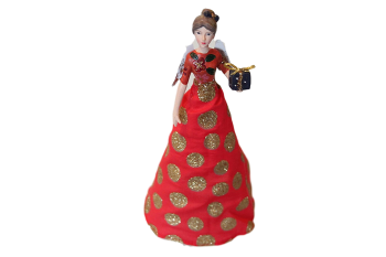 Gisela Graham Fashion Fairy Christmas Tree Topper