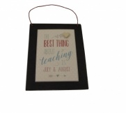 East of India The Best Thing About Teaching Plaque