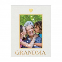Gold and Cream Photo Frame for Grandma by Widdop Gifts