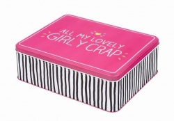 Happy Jackson Girls Random Novelty Storage Tin