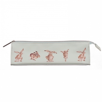 Wrendale Designs Hare Illustrated Brush Bag
