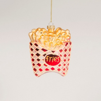 Sass and Belle French Fries Bauble