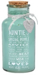 Xpressions Messages Of Love Light Up Auntie Jar