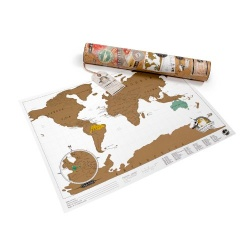 Luckies Scratch Map Travel Edition Travel Map