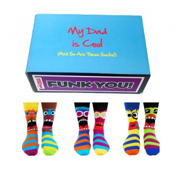Cool Dad Gift Set - Assorted Oddsocks for Men