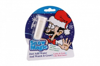 Novelty Magic Growing Snow Christmas Home Decoration